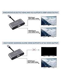 Adaptador USB C a HDMI 4K: adaptador tipo C.