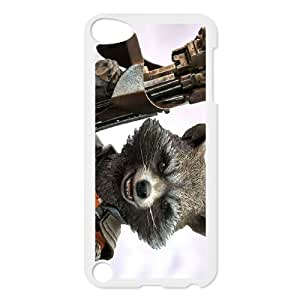 Guardians of the Galaxy ipod 5 Black White Phone Case Gift Holiday &Christmas Gifts& cell phone cases clear &phone cases protective&fashion cell phone cases NYRGG69701274