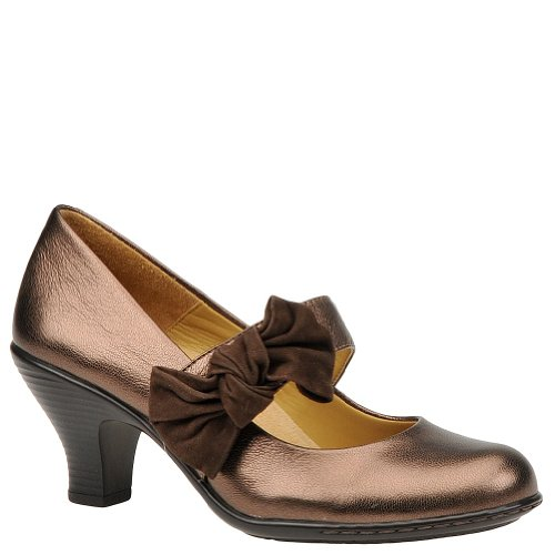 Softspots Women's Copper/Chocolate Goat Suede Sophia 11 C US (Goat Suede)