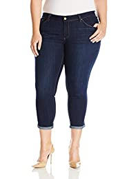 Jessica Simpson Women's Plus Size Forever Rolled Skinny