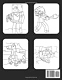 MINECRAFT COLORING BOOK: +55 High Quality