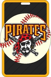 - Pittsburgh Pirates - MLB Soft Luggage Bag Tag