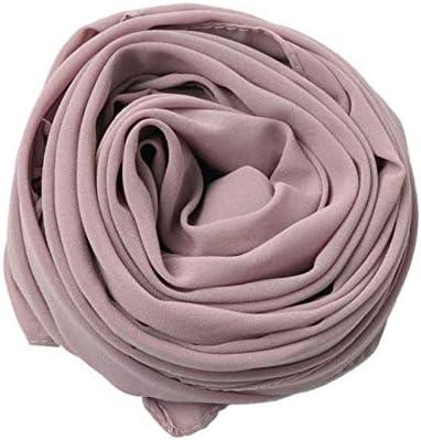 Chiffon Womens Hijab Solid Colour Super soft Dusty Rose