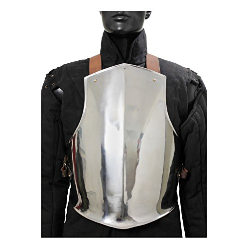 Armor Venue: Medieval Ready For Battle Breast Plate Body Armour Steel Large