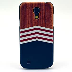 LIMME ships in 48 hours Wooden Triangle Printing Tribal Pattern Hard Back Cover Case for Samsung Galaxy S4 Mini I9190