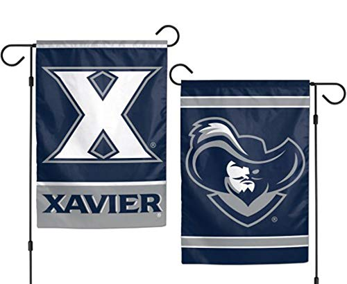 (Xavier Musketeers NCAA Garden Flag 2 Sided 12.5 x 18 Inches)