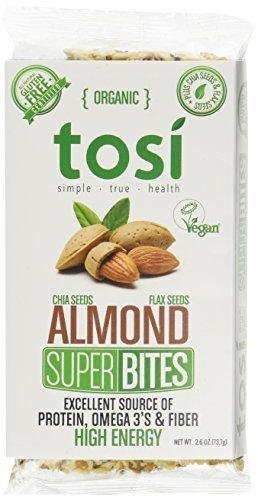 Almond 12 Tosi Health SuperBites 2.6 oz Health 2.6 Bar 12 Count Pack [並行輸入品] B07N4KWC2B, シンプルインテリア:3bd00476 --- ijpba.info
