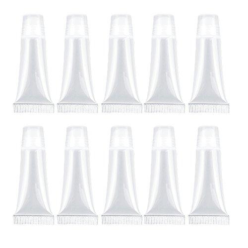mini empty refillable plastic lip