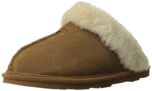 BEARPAW Women's Loki Mule, Hickory, 8 M US