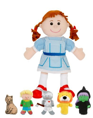 Hand Wizard Of Oz Puppets (Fiesta Crafts Wizard Of Oz Hand and Finger Puppet Set by Fiesta)
