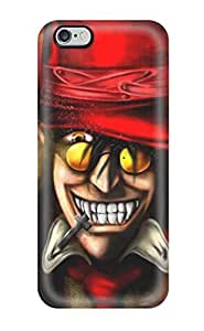 Hot Snap-on Hellsing, Anime, Alucard Hard Cover Case/ Protective Case For Iphone 6 Plus Sending Free Screen Protector