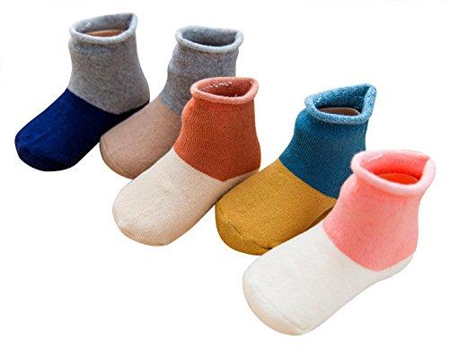 Aivtalk de diferentes beb 5 pares calcetines para vwrCvEq