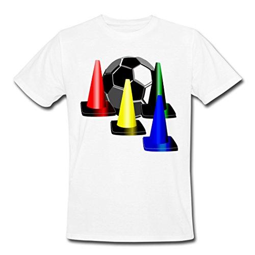 Mr.Potato Good Taste Soccer Logo White Males T-Shirt XXL - Football Mr Potato