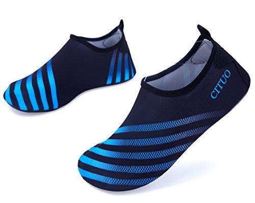 Giotto Scarpe Da Ginnastica A Piedi Nudi Yoga Beach Swim Aqua Shoes Per Donna Uomo B-blue