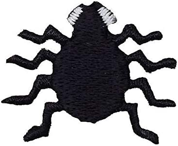 Spider Insect Embroidered Iron on sew on Patch