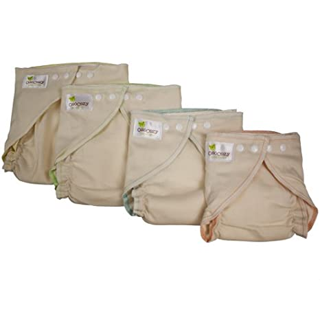 Osocozy Fitted Organic Diaper (Small 7-13 Lbs.)