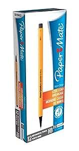 PaperMate Non-Stop - Lápiz portaminas (12 unidades), color amarillo