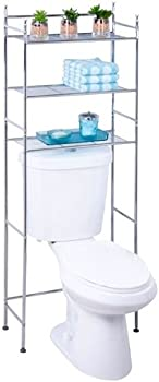 Honey Can Do Chrome 3-Tier Over the Toilet Space Saver