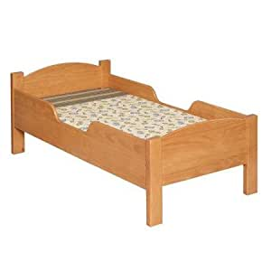 Little Colorado Traditional Toddler Bed, Espresso