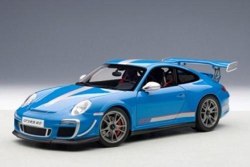Amazon.com: Porsche 911 (997) GT3 RS 4.0 Blue 1/18 by Autoart 78145: Toys & Games