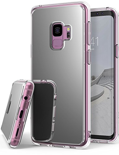 Galaxy S9 Case, Ringke [MIRROR SILVER] Bright...