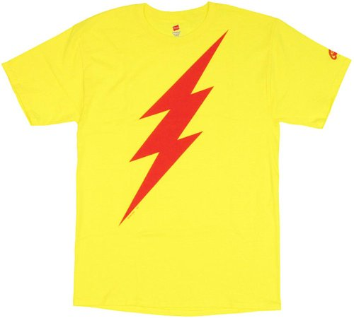 kid flash t shirt - 7