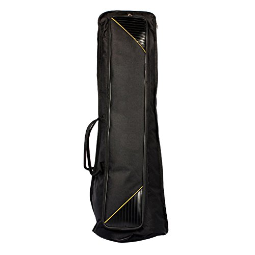 Dovewill Black Oxford Fabric Tenor Trombone Gig Bag Musical Instrument Protection Accessory by Dovewill (Image #2)'