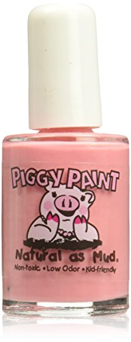 Piggy Paint 100% Non-toxic Girls Nail Polish - Low Odor for Kids - Angel Kisses