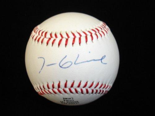 Tom Glavine - Atlanta Braves - Autographed Unofficial Baseball - B&E Holo ()