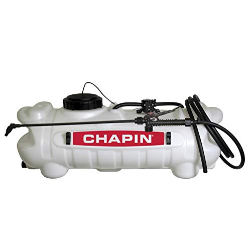 Sprayer Agricultural - Chapin 97200 15-Gallon, 12-volt EZ Mount Fertilizer, Herbicide and Pesticide Spot Sprayer, 15-Gallon (1 Sprayer/Package)