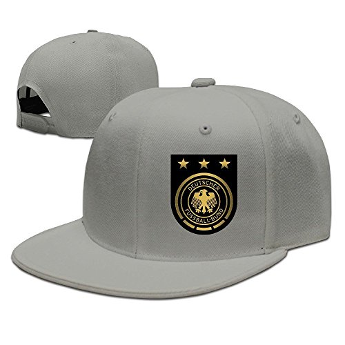 MaNeg Germany Soccer Team Unisex Fashion Cool Adjustable Snapback Baseball Cap Hat One Size - Snapback Prada