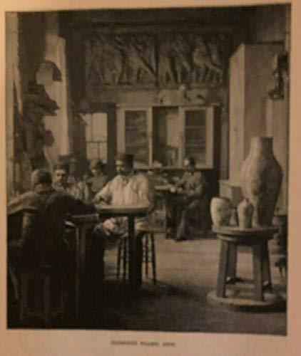 1886 Sculpture Ferdinand Barbedienne by Theodore Child illustrated