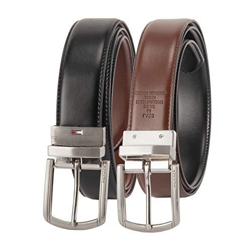 Tommy Hilfiger Stretch Belt - Tommy Hilfiger Reversible Leather Belt-Casual for