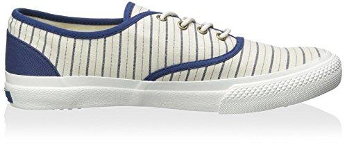 Generischer Surplus Herren Borstal Lowtop Sneaker Ecru / Navy Streifen