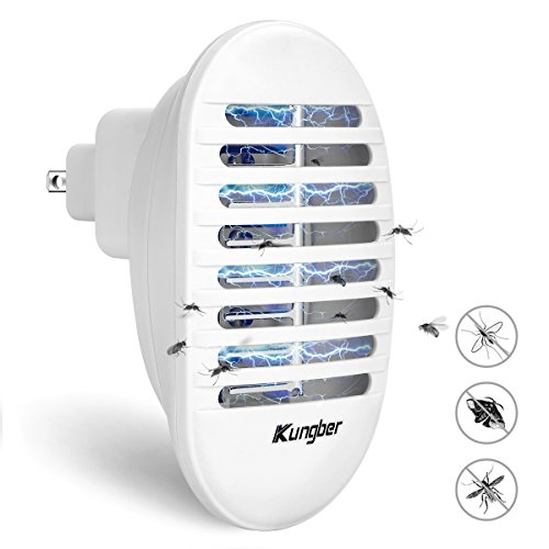 Kungber Bug Zapper with UV Light Insect Body Storage Box Mosquito Killer Electronic Insect Killer Eliminates Most Flying Pests, Mosquito & Insect for Indoor Use