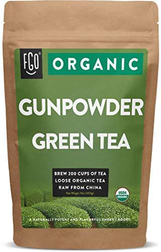 Organic Gunpowder Green Loose