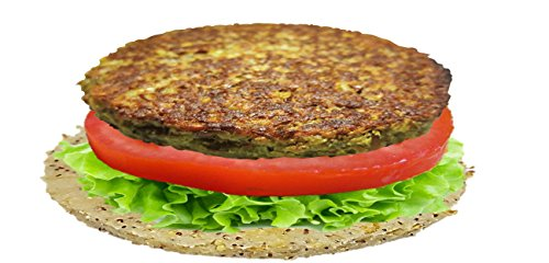 VB Lentil Vegan Burgers (4 Packs of 5 Burgers) (20 burgers) by VB by NUTRI D'LIGHT