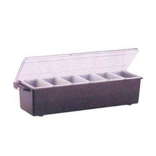 Vollrath 4746-01 Traex Kondi-Keeper Plastic Condiment Dispensers with Pint Ins