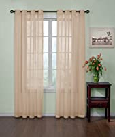 Arm and Hammer Curtain Fresh Odor Neutralizing Sheer Curtain Panel (Single panel)