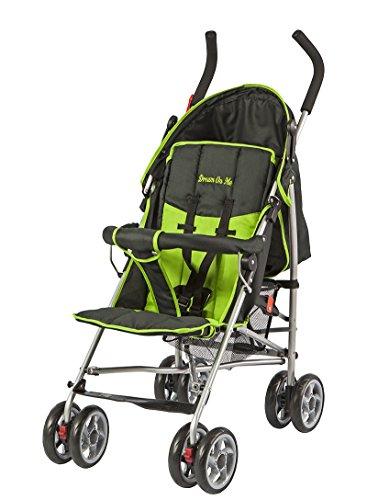 Dream On Me Journey Lightweight Umbrella Stroller, Green/Black