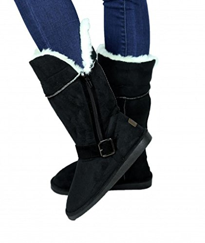 womens-foldable-boots-with-fur-lining-black-size-9