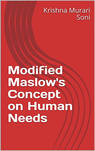 Modified Maslow's Concept on Human Needs