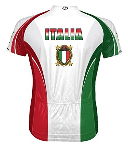 f5dad2d9c Amazon.com   Primal Wear The Italy Italia Cycling Jersey Men s Short ...