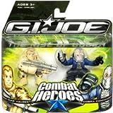 G.I. Joe The Rise of Cobra Combat Heroes 2-Pack Conrad Duke Hauser and Cobra Commander