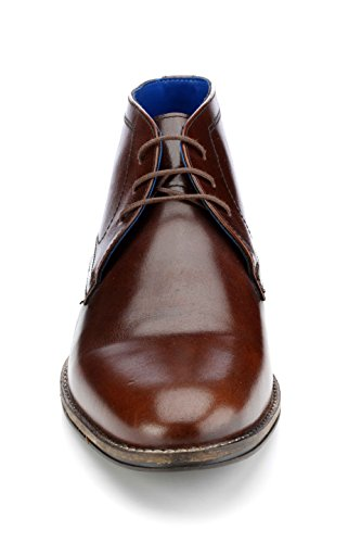 Red Tape Hommes Elstow Marron Boot Formel