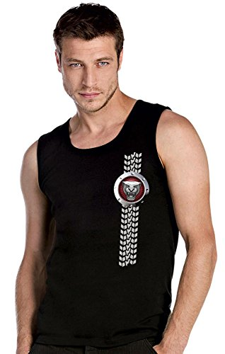 Jaguar Logo AUTO FUN schwarz Top Tank T-Shirt -2766