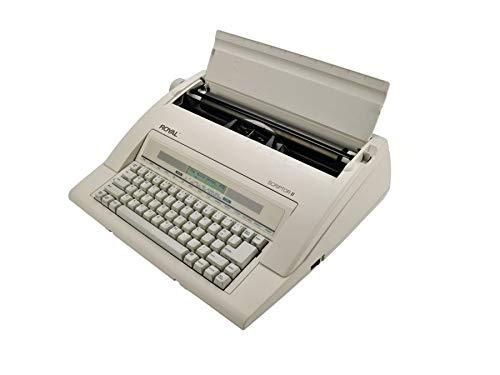 ROYAL(R) Scriptor II 69147T Electronic Typewriter, White