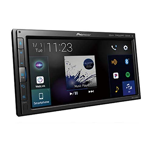 Pioneer DMH-C2550NEX Modular 6.8'' Multimedia Receiver with CarPlay & Android Auto by PIONEER