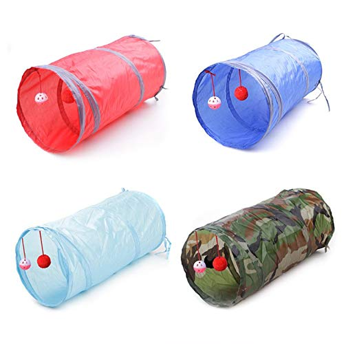 6e9d85d252fd AgoHike Foldable Pet Dogs Cats Tunnel Toys Indoor Outdoor Home Folding  Training Tunnel