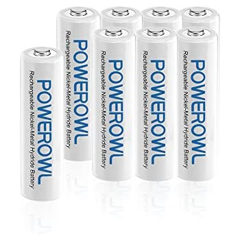 Amazon.com: Camelion AAA NH Solar Rechargeable Batteries
